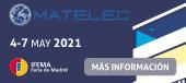 Matelec - IFEMA - Feria de Madrid 4 - 7 mayo 2021