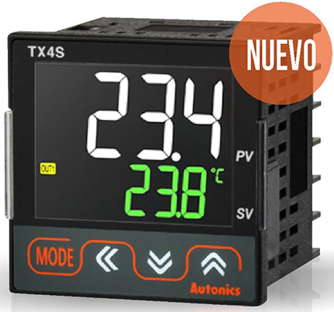 Control temperatura LCD