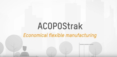 ACOPOStrak: Economical flexible manufacturing