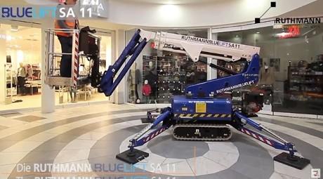 Fotografía de Mini plataforma Bluelift SA 11