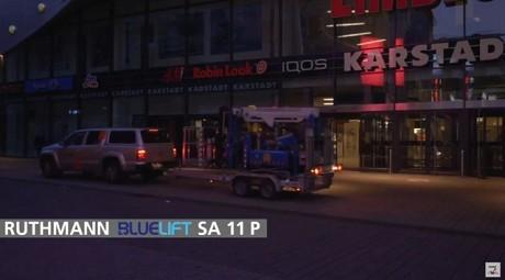 Fotografía de Bluelift SA11P: la plataforma más...