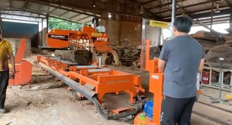 Wood-Mizer LT70Wide Heavy-Duty en Singapore | Wood-Mizer Asia